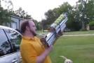 Canon à balle pour chien