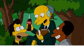 Coca cola chez les Simpson
