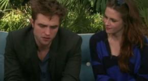 Interview Robert Pattinson et Kristen Stewart