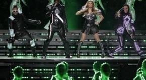 Le show des Black Eyed Peas au Superbowl 2011