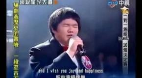 Lin Yu chante I will always love you de Whitney Houston