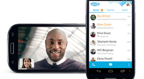 Mobile skype