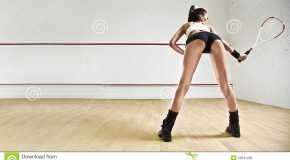 Sport squash très sexy