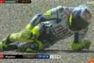 Video Chute Rossi fracture du tibia GP Italie moto
