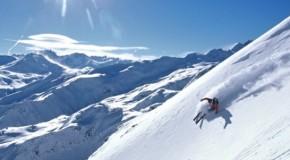 Video de ski à 360 degrés