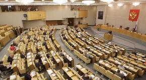 Vote des députés russes